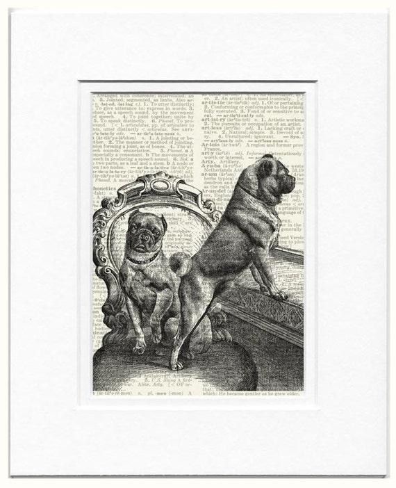 pugs dictionary page print