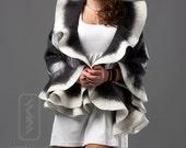 Custom felted shawl listing for Yunna