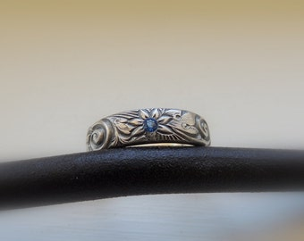 Sterling Mothers Ring.... Birthstone Ring  Personalized Jewelry  Birthstone Jewelry  Gift for Her