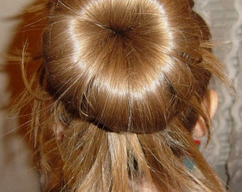 Three Hair  Bun Maker Donut
