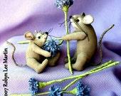 PDF Pattern, Primitive Mouse, Sewing Pattern, Mouse Doll