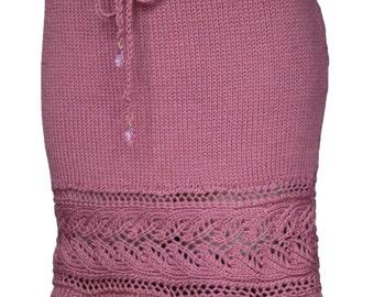 Shana Trumpet Skirt Knitting Pattern -PDF