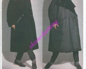 Vogue 2978 Issey Miyake Designer Original Pattern All Sizes Winter Coat OOP from 1992 Box