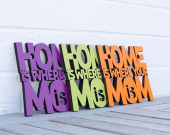 Home is Where Mom is MINI sign