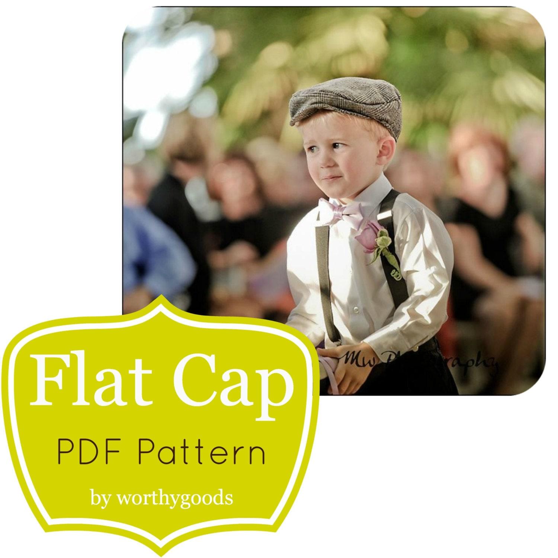 Kids Newsboy Cap Sewing Pattern Free Download