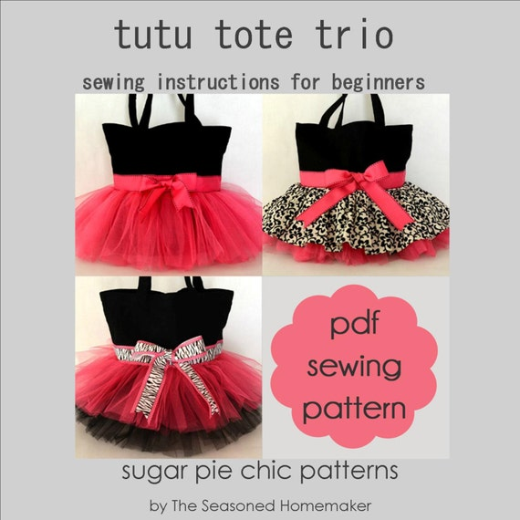 Tutu Bag Trio Tutorial