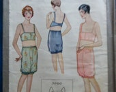 1920s 1930s vintage lingerie pattern- mccall 5090