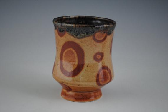 Cup, Orange Shino Yunomi