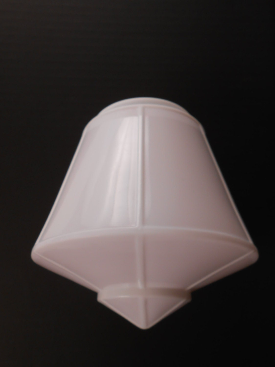 Vintage Art Deco Bell Shaped Ceiling Light Fixture Fitter