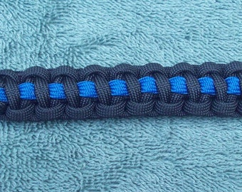 The Thin Blue Line - Paracord Belt Loop Key Fob - Police