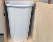Trash / Recycle Storage Bin (Fits 11 Gallon Trash Can)