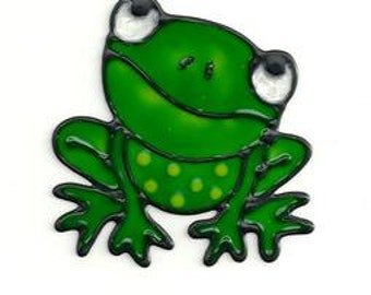 Mini Frogs Window Cling Set