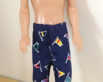 Handmade Ken and Barbie Clothes Shorts for Ken