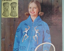 Popular items for tennis sweater on Etsy