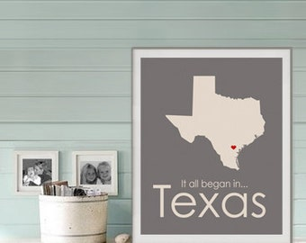 Texas State Map, mitn wedding decor, Anniversary gifts for boyfriend, Gift for bride Wedding Gift, gift for groom Wedding Sign Bridal Shower