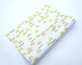 Yellow Baby Shoes Wrapping Paper Babai - Irish Langauge- Gift Wrap- Top Quality 140gsm Paper - Made in Ireland