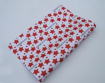 Comhghairdeas/Congratulations Wrapping Paper Red Star Print Gift Wrap