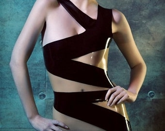 Latex Rubber 'Bandage' dress