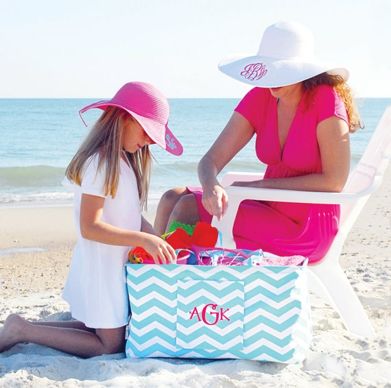 Personalized Ultimate Carry all tote/market tote/beach bag/pool bag 5 PRINTS to choose from