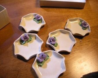 Handmade Ceramic Butter Pats