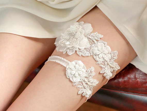 Garter - bridal garter, wedding garter, lace garter
