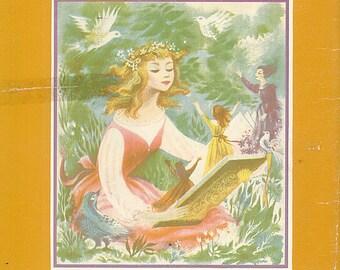 Vintage Childrens Story Book Enchanted Book Alice Dalgliesh Concetta Cacciola CrabbyCats, Crabby Cats WS3E