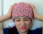 Brain Hat, Crochet Beanie