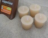 COPPERTONE (4 votives or 4oz soy jar candle)