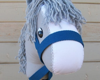 "MADE TO ORDER Classic Collection ""Gray"" Stick Horse or Pony Ready to Ride"