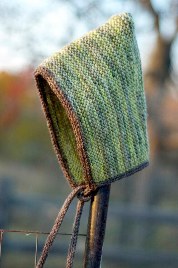 Knitting Pattern - Pixie Hat Pattern - Baby Pixie Hat - Elf Hat - Pixie Bonnet - Knit Pixie Hat - PDF - Instant Download - Knit Hat