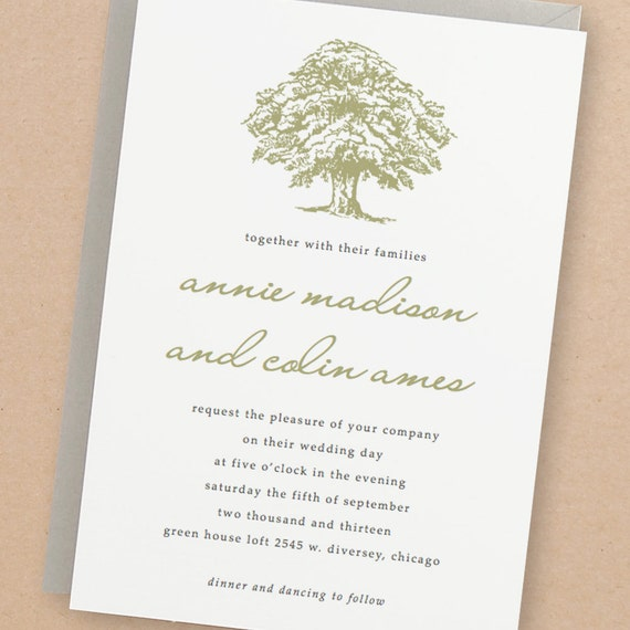 Printable wedding invitation template instant download oak stopboris Image collections