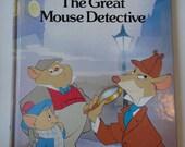 Vintage Walt Disneys The Great Mouse Detective Book