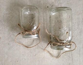 Custom mason jar hangers, set of 12 in your custom mason jar size