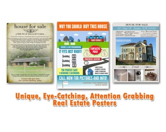 Custom Real Estate Flyers