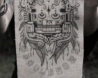 Sothic Skull Hemp/Organic Cotton Patch
