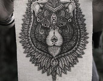 See Lion Hemp/Organic Cotton Patch