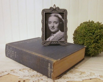 vintage book All This and Heaven Too, Rachel Field 1940 special Motion Picture Edition Bette Davis Charles Boyer Warner Brother movie stills