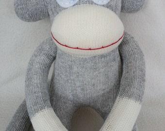 Traditional Canadian Sock Monkey