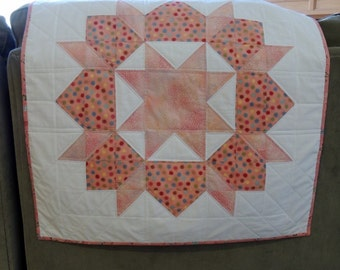 Quilted Swoon Wall Hanging Bubblegum Birthday Banner