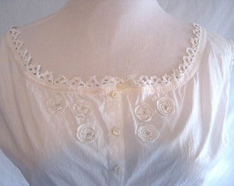 Antique, underwear, 1910s, cami-knickers, Downton Abbey, wedding, cotton, lace, small, simply BEAUTIFUL, perfect gift