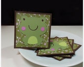 Unfrogettable Frog - Mini Cards  Thank You cards Childrens Cards ( Set of 4)