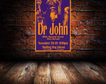 Dr John 1975 Cleveland Concert Poster