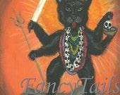 Kali the Hindu God Notecard
