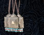 SALE Tribal Necklace, Boho Necklace, Statement Necklace