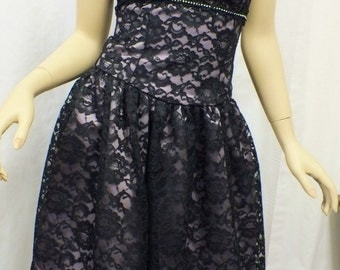 Strapless Dress for Bridesmaids, Prom Dress or Bat Mitzvah Dress, Party Dress  SMALL