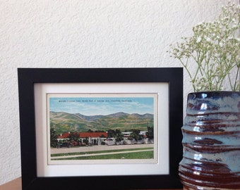 Marcell Country Club, Pasadena, California - framed vintage postcard