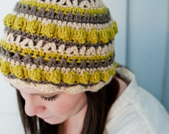 Crochet Pattern - Sampler Hat or Easter Egg Hat Pattern