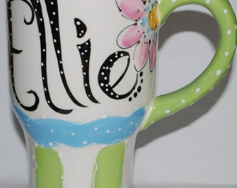 Personalized Ceramic Travel mug