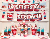 Lil' HOOTS VALENTINES Collection - Printable Valentine's Day Decor