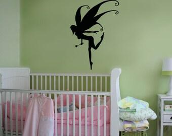 Vinyl Wall Decal Sticker Pixie Fairy OSAA1203m